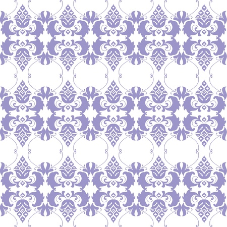 absract: ornamento floreale wallpaper senza soluzione di continuit� a sfondo bianco