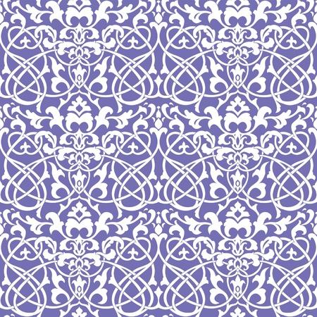 r�p�titif: le luxe classique de papier peint floral transparent, illustration d�corative