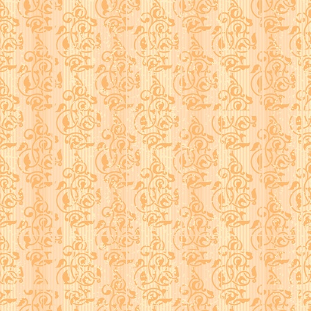 Decorative ornamental old style seamless wallpaper Vector