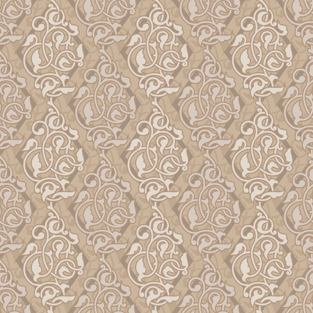 Ornamental background asian style Vector