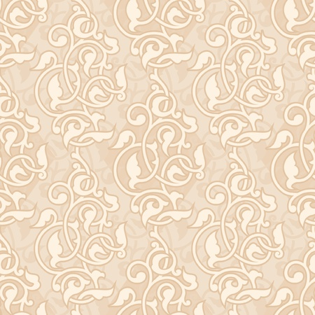 motive: Ornamental asian seamless wallpaper