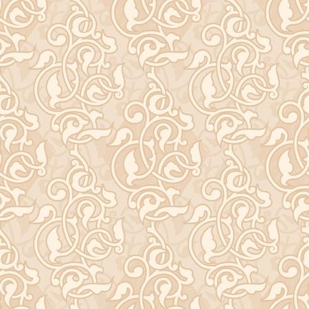 arabesque: Ornamental wallpaper asian senza soluzione di continuit� Vettoriali