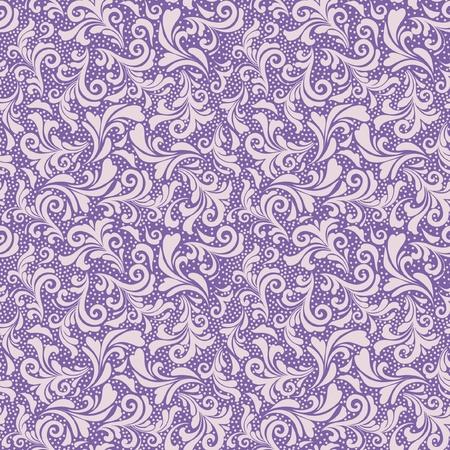 Naadloze bloemen decoratief patroon