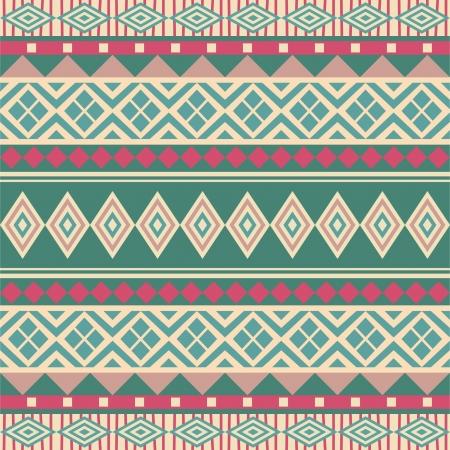 Geometrische naadloze sier patroon etnische stijl