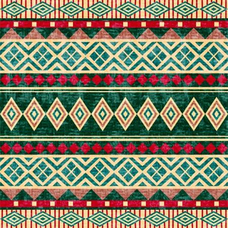 arte africano: Estilo abstracto geom�trico patr�n africano