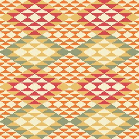 Abstracte geometrische naadloze achtergrond in etnische stijl
