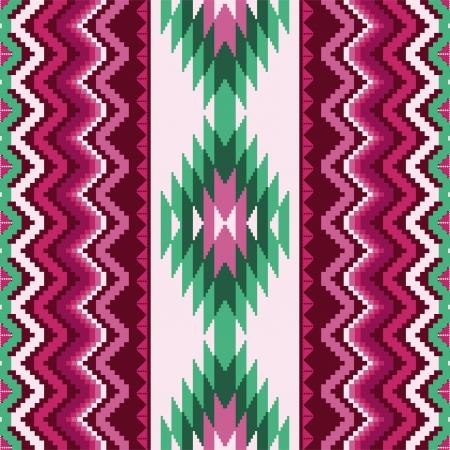 깔개: 기존의 장식적인 모티브와 민족 섬유 원활한 패턴 일러스트