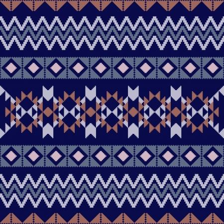 poncho: Geometric ornamental incons�til en estilo �tnico