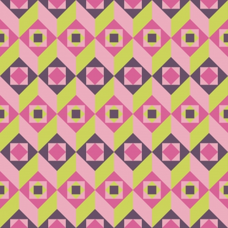 carpet and flooring: Abstract geometric pattern Illustration