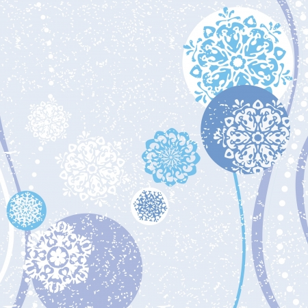Winter Christmas decorative background Stock Vector - 16435460