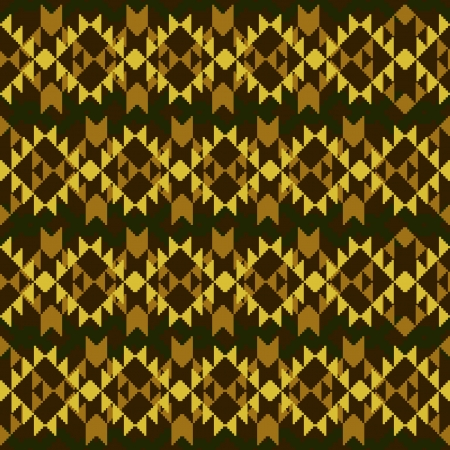 Abstract ornamental geometric seamless pattern Stock Vector - 16702143
