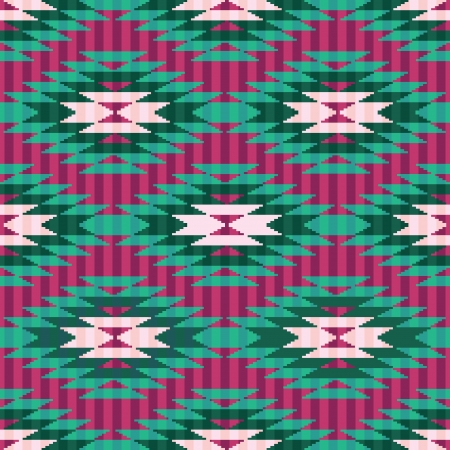 Geometric background ethnic style seamless ornamentale pattern Vector