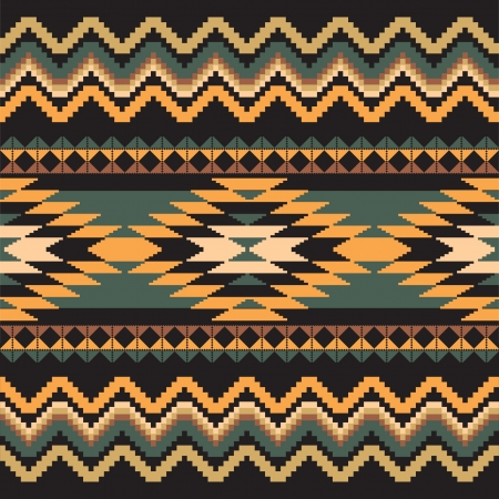 ikat: Ethnic ornamental textile seamless geometric pattern