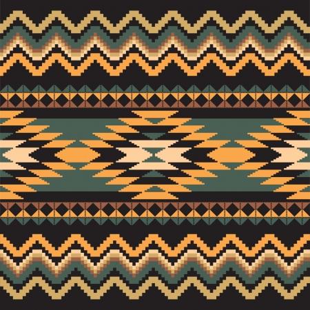 Etnische sier textiel naadloos geometrisch patroon