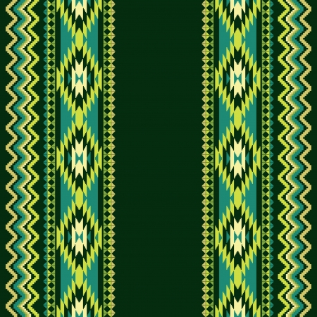 Etnische sier textiel naadloze patroon Stock Illustratie