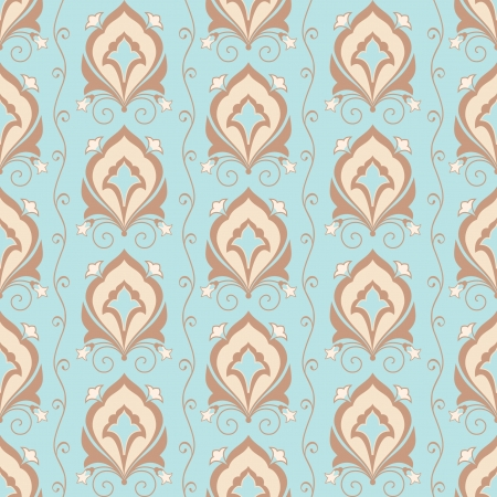 Ornamental vintage classic seamless wallpaper Vector