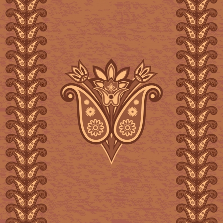 Decorative ornamental background Vector
