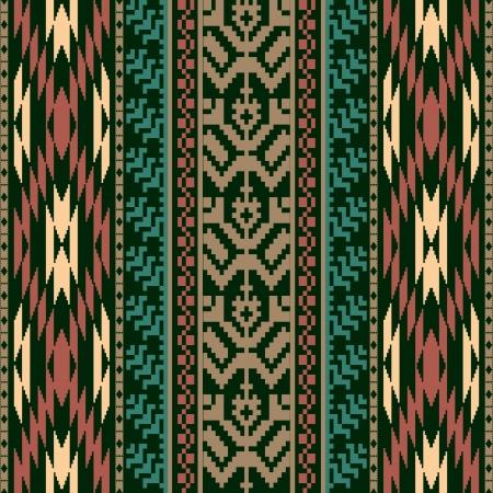 Etnische textiel naadloze patroon