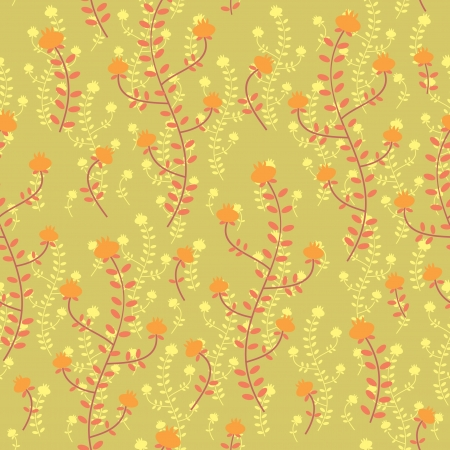 Floral seamless background Stock Vector - 18218911
