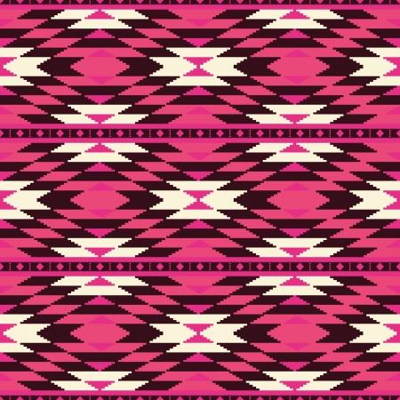 Etnische geometrische naadloze patroon