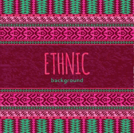 ikat: Ethnic textile seamless background