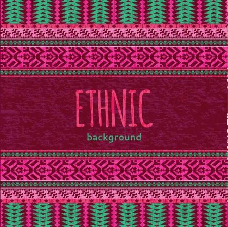 Etnische textiel naadloze achtergrond