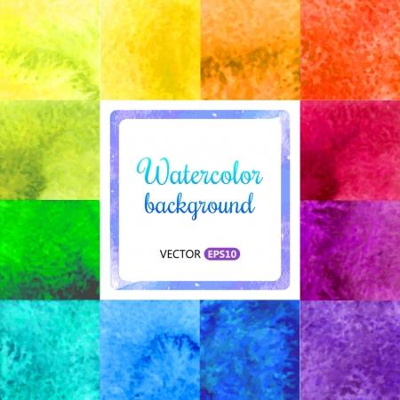 Watercolor background Vectores