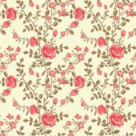 roses wallpaper: Roses pattern Illustration