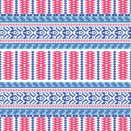 Textile seamless pattern ethnic style Stock Vector - 20308754