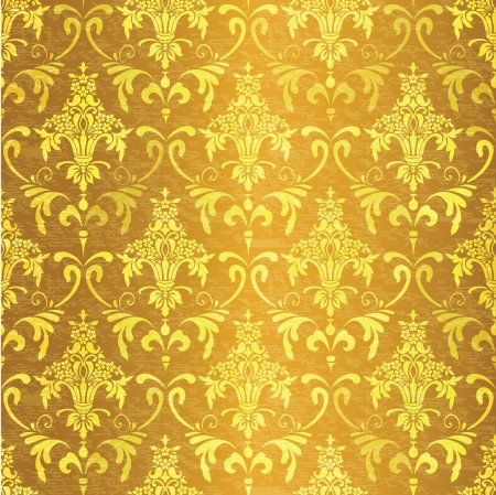 Ornamental vintage seamless background Vector
