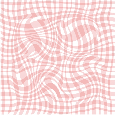 waved: Abstract pink waved background Illustration