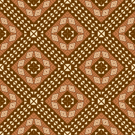 African textile background seamless pattern ethnic style Vector