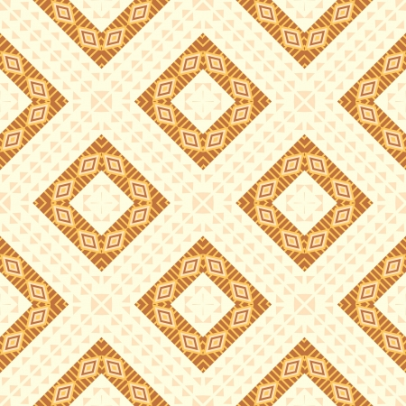 Ethnic geometric seamless background Vector