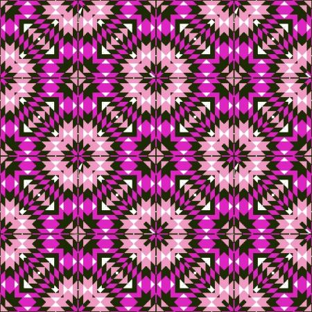 Ethnic geometric seamless pattern ornamental print design Vector