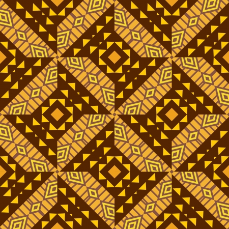 Geometrical abstract ornamental pattern ethnic style Vector