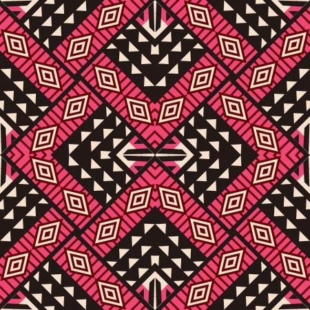 部族の装飾的なデザイン、シームレスなパターン