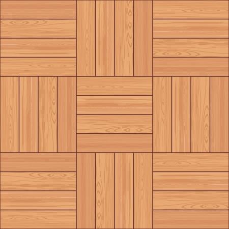 Houten structuur parket naadloze patroon Stock Illustratie