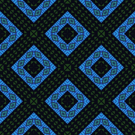 african fabric: African style tribal geometric pattern