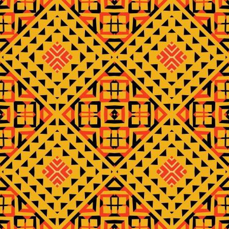 Geometric pattern tribaal style Vector