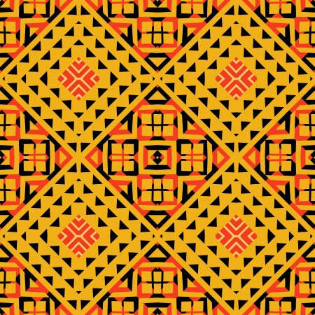 african culture: Geometric pattern tribaal style