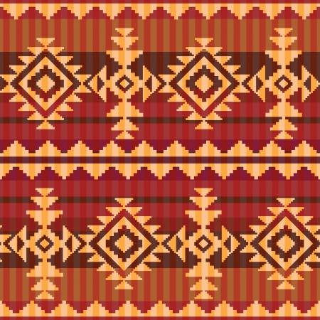indio americano: Navajo estilo transparente patrón