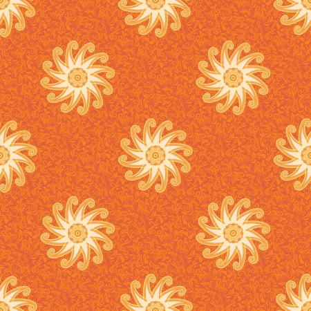 Ethnic pattern in indian style Vector