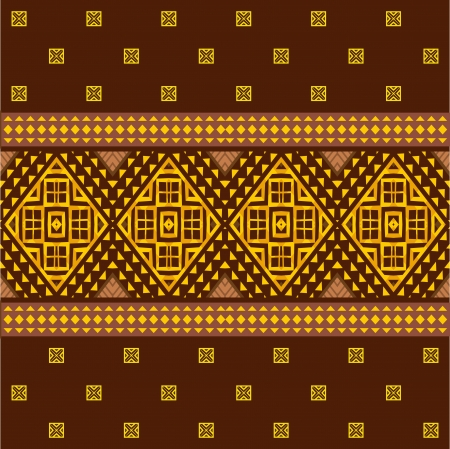 Abstract ethnic seamless pattern african style Vector