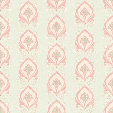 antique chic: Old classic floral seamless wallpaper