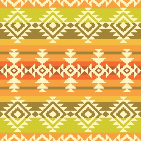 Tribal geometric striped pattern Vector