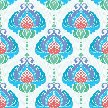 Bloemen textiel naadloze bloemmotief