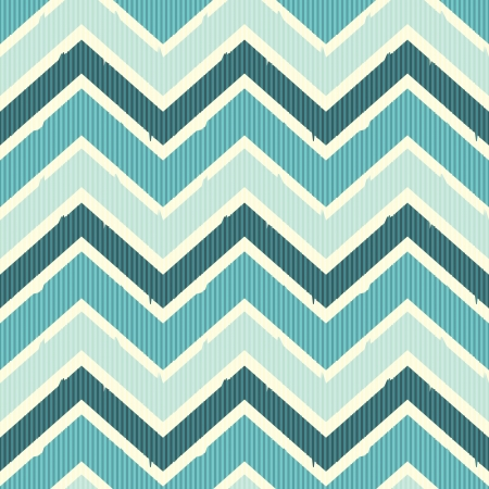 Seamless chevron pattern in sea colors Stock Vector - 20745845