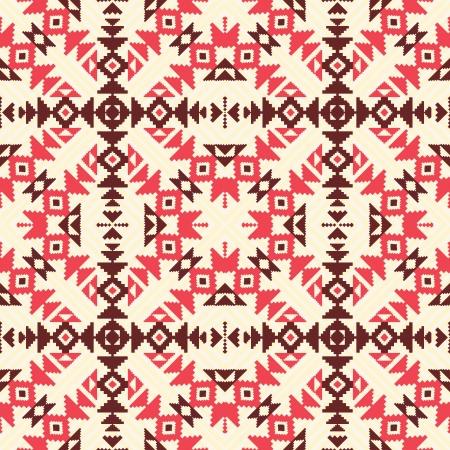 navajo: Ethnic geometric seamless patttern