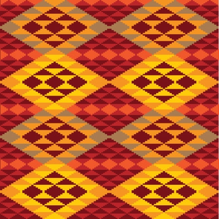 Abstract geometric pattern of rhombes Vector