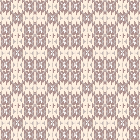 Knitted sweater textile seamless pattern Vector